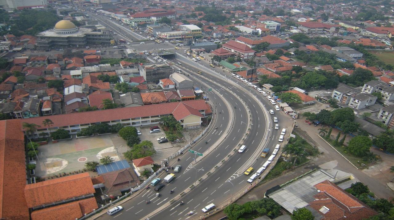Underpass Ciledug Tangerang Banten